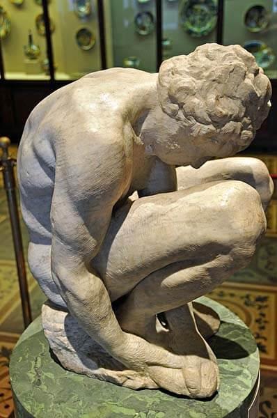 Escultura Michelangelo Museo Hermitage
