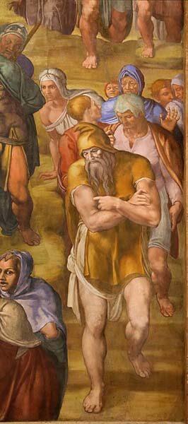 Michelangelo Buonarroti Crucifixión de San Pedro Vaticano Pintura Renacimiento