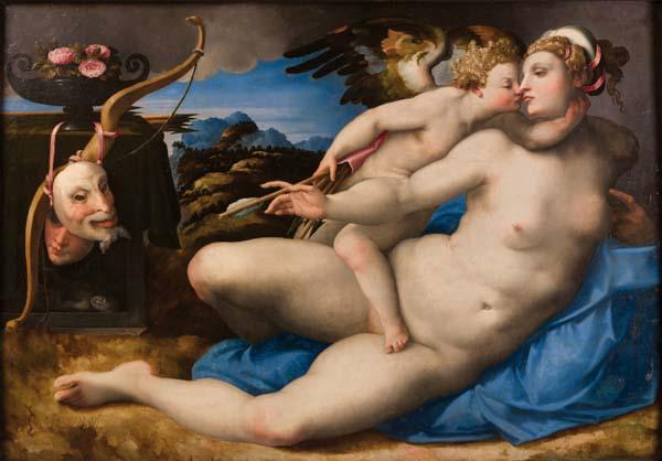 Hendrik van der Broeck, Venus y Cupido Miguel Ángel