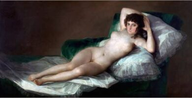 Maja desnuda Goya Museo del Prado Pintura