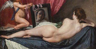 Venus del espejo Velázquez Pintura Barroca