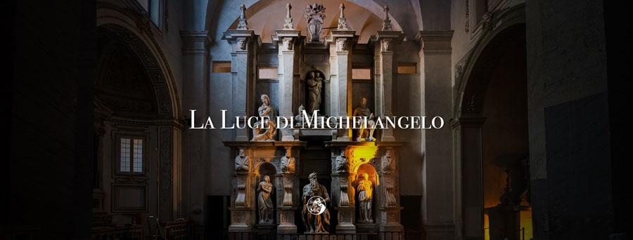 La luce di Michelangelo Moises San Pietro in Vincoli