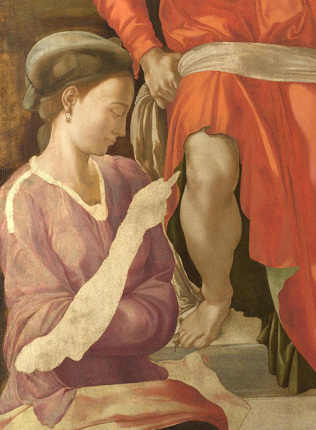 Deposición de Michelangelo Buonarroti Cristo National Gallery
