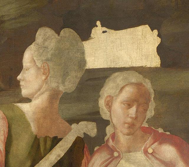 Pintura Santo Entierro Michelangelo Buonarroti Cristo National Gallery