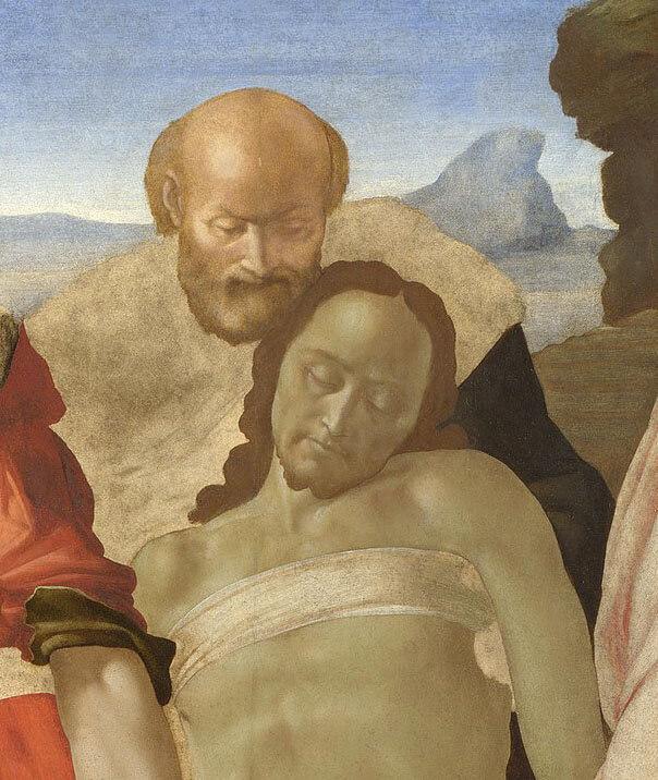 Santo Entierro Michelangelo Buonarroti Cristo National Gallery