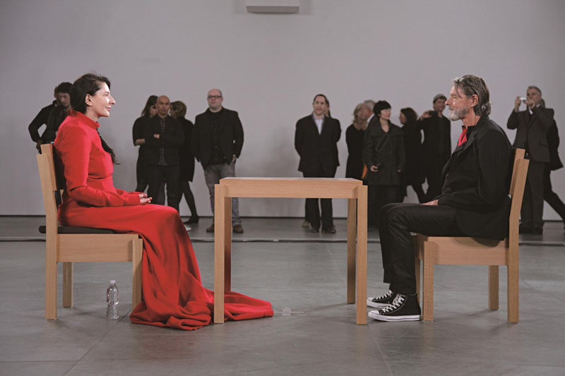 Marina Abramovic con Ulay: The Artist is Present MoMA