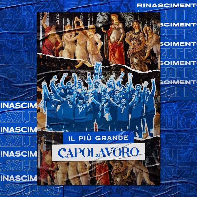 Arte Futbol Italia Botticelli Capolavoro