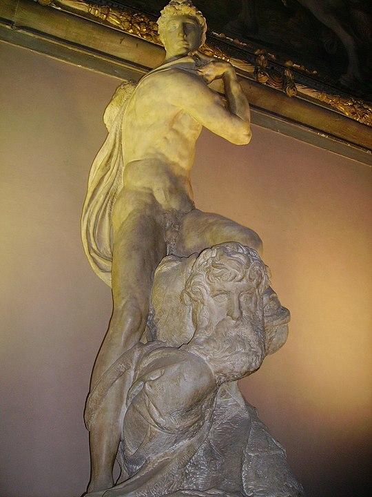 Genio de la Victoria Firenze Michelangelo Renacimiento