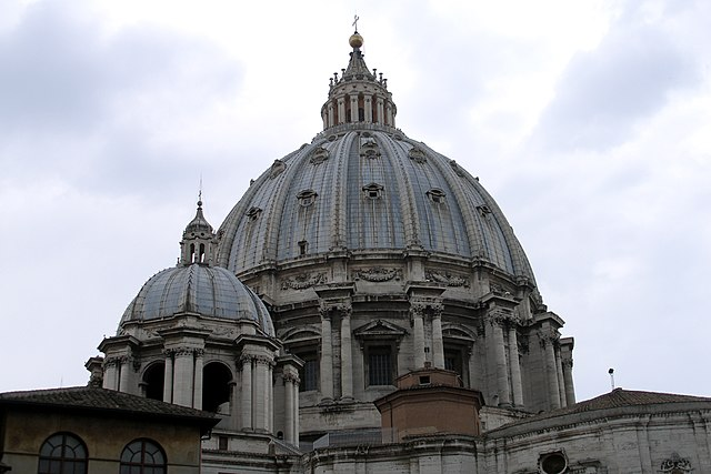Roma Basilica de San Pedro Arquitectura Michelangelo