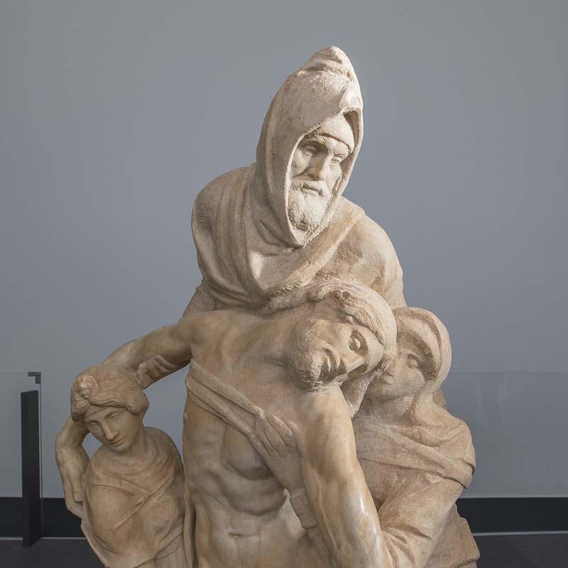 Piedad de Florencia  Miguel Ángel escultura restaurada
